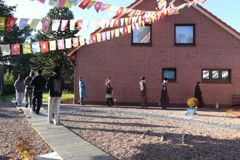 Buddhistischer Chan und Pure Land (Reine Land Schule) Kloster Vien Lac.